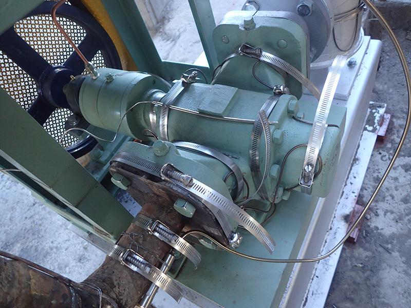 アスファルト加熱用低ワット密度伝熱ヒータ ケーブル