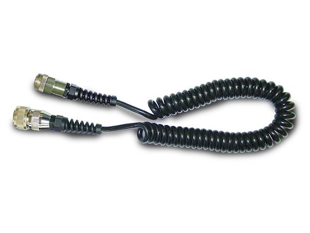 3m ケーブル 10P-12P ( ストレート黒 ) マシン